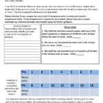 Generic Pre-Health Screening Form